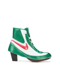 mehrfarbige Leder Stiefeletten von Nike