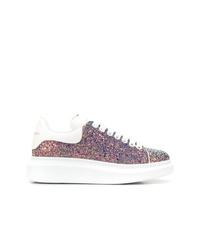 mehrfarbige niedrige Sneakers von Alexander McQueen