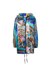 mehrfarbige Regenjacke von Emilio Pucci