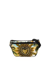 mehrfarbige Segeltuch Bauchtasche von Dolce & Gabbana