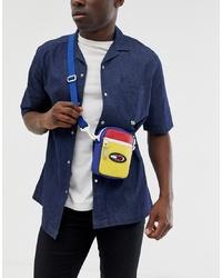 mehrfarbige Segeltuch Bauchtasche von Tommy Jeans