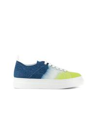 mehrfarbige Segeltuch niedrige Sneakers von MSGM