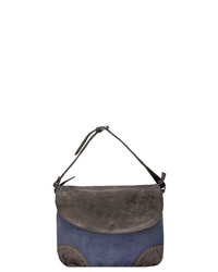 mehrfarbige Shopper Tasche aus Leder von Billy The Kid