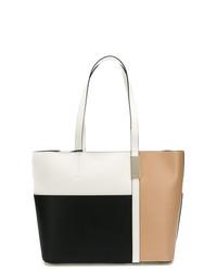 mehrfarbige Shopper Tasche aus Leder von DKNY