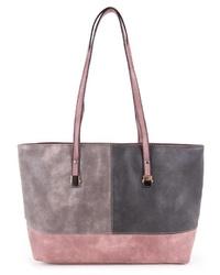 mehrfarbige Shopper Tasche aus Leder von Sina Jo