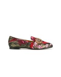 mehrfarbige Slipper von Dolce & Gabbana