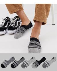 mehrfarbige Sneakersocken von ASOS DESIGN