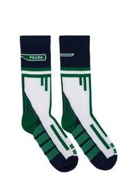 mehrfarbige Socken von Prada