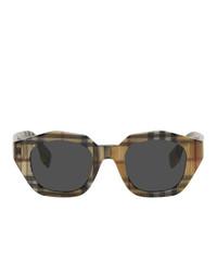 mehrfarbige Sonnenbrille von Burberry
