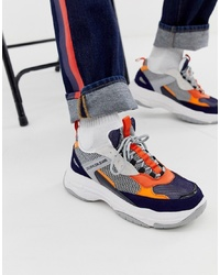 mehrfarbige Sportschuhe von Calvin Klein