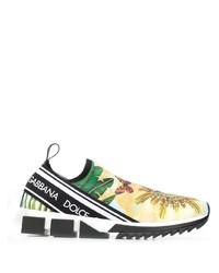mehrfarbige Sportschuhe von Dolce & Gabbana