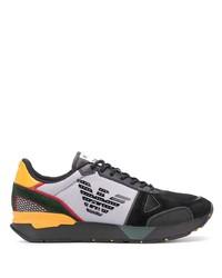 mehrfarbige Sportschuhe von Emporio Armani