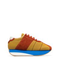 mehrfarbige Wildleder niedrige Sneakers von Marni