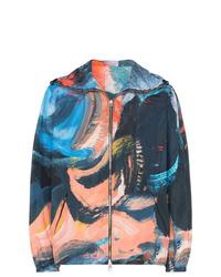mehrfarbige Windjacke von Alexander McQueen