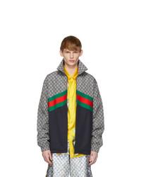 mehrfarbige Windjacke von Gucci