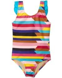 Mehrfarbiger Badeanzug