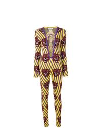 mehrfarbiger bedruckter Jumpsuit von Gucci