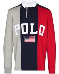 mehrfarbiger bedruckter Polo Pullover von Polo Ralph Lauren