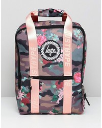 mehrfarbiger bedruckter Rucksack von Hype