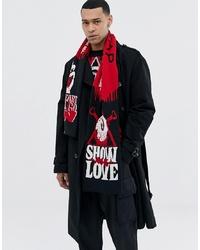 mehrfarbiger bedruckter Schal von Cheap Monday