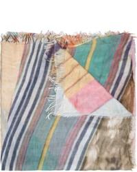 mehrfarbiger bedruckter Schal von Figue