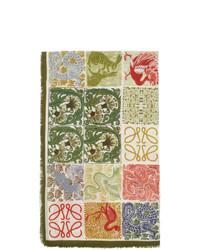 mehrfarbiger bedruckter Schal von Loewe