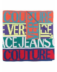 mehrfarbiger bedruckter Schal von VERSACE JEANS COUTURE