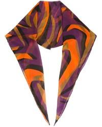 mehrfarbiger bedruckter Schal von Versace