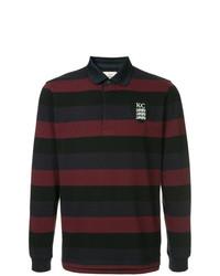 mehrfarbiger horizontal gestreifter Polo Pullover von Kent & Curwen