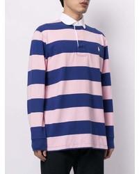 mehrfarbiger horizontal gestreifter Polo Pullover von Polo Ralph Lauren