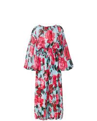 mehrfarbiger Jumpsuit mit Blumenmuster von Dolce & Gabbana