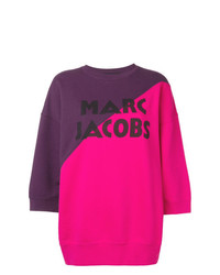 mehrfarbiger Kurzarmpullover von Marc Jacobs