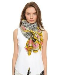 mehrfarbiger leichter Schal von Ryan McGinness