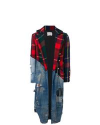mehrfarbiger Mantel von Greg Lauren