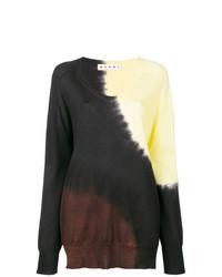 mehrfarbiger Oversize Pullover von Marni