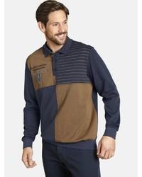 mehrfarbiger Polo Pullover von Jan Vanderstorm