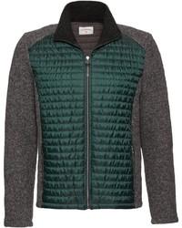 mehrfarbiger Pullover mit einem Reißverschluß von Stapf