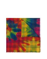 mehrfarbiger Mit Batikmuster Schal von Burberry
