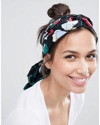 mehrfarbiger Schal mit Blumenmuster von ASOS DESIGN