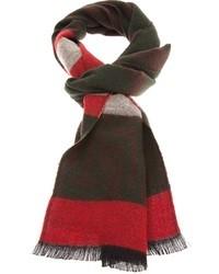 mehrfarbiger Schal mit Schottenmuster
