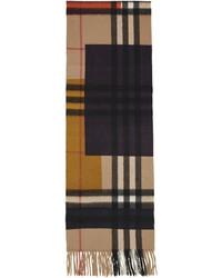 mehrfarbiger Schal mit Schottenmuster von Burberry