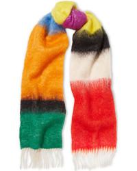 mehrfarbiger Schal von Loewe