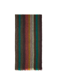 mehrfarbiger Schal von Paul Smith