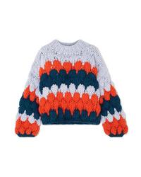 mehrfarbiger Strickpullover von The Knitter