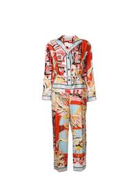 mehrfarbiger verzierter Jumpsuit von Emilio Pucci