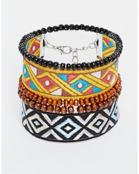 mehrfarbiges Armband