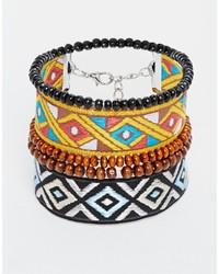 mehrfarbiges Armband von Asos