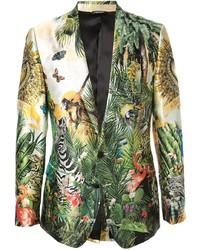 mehrfarbiges bedrucktes Sakko von Dolce & Gabbana