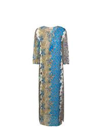mehrfarbiges bedrucktes Strandkleid von Tory Burch