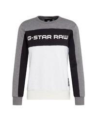mehrfarbiges bedrucktes Sweatshirt von G-Star RAW